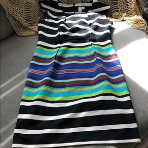 Emma & Michele Striped Dress Sz 10